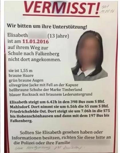 junge vermisst berlin