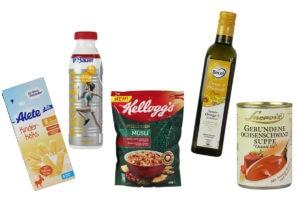 Diese Produkte waren für den Goldenen Windbeutel nominiert.
